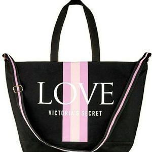 Big Victoria's Secret Weekender Bag